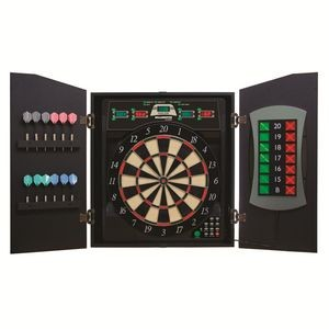 Bullshooter CricketMaxx 5.0 Electronic Dartboard Cabinet Set